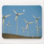 USA, California, Altamont Pass, wind generators. Mouse Pad