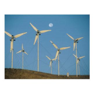 USA, California, Altamont Pass, wind generators. Post Cards