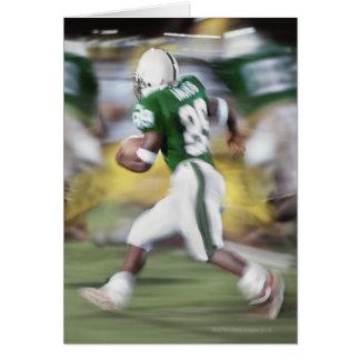 USA, California, American football player Card