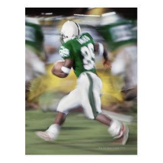 USA, California, American football player Postcard