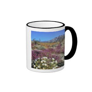 USA, California, Anza-Borrego DSP. Dune evening Ringer Coffee Mug