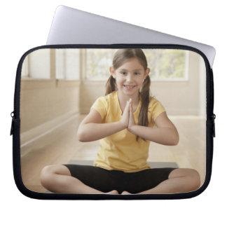 USA, California, Beverley Hills, Girl (6-7) Laptop Sleeves