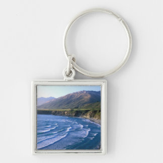 USA, California, Big Sur, bay along Highway 1. Keychain