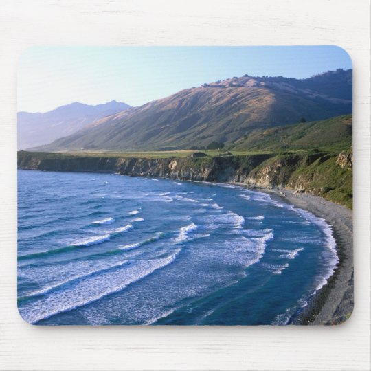 USA, California, Big Sur, bay along Highway 1. Mouse Pad
