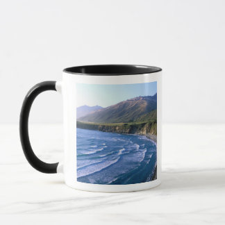 USA, California, Big Sur, bay along Highway 1. Mug
