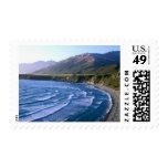 USA, California, Big Sur, bay along Highway 1. Stamp