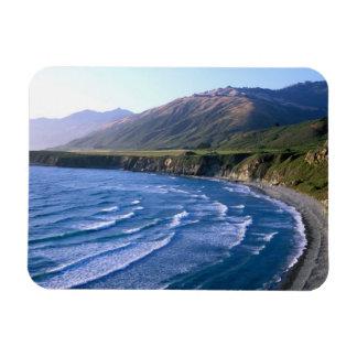 USA, California, Big Sur, bay along Highway 1. Magnets
