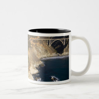 USA California Big Sur Bixby Bridge Coffee Mugs