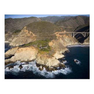 USA. California. Big Sur. Bixby Bridge Postcard