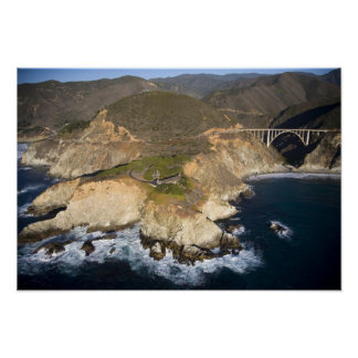 USA. California. Big Sur. Bixby Bridge Poster