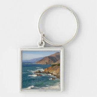 USA, California, Big Sur Coastline Key Chains