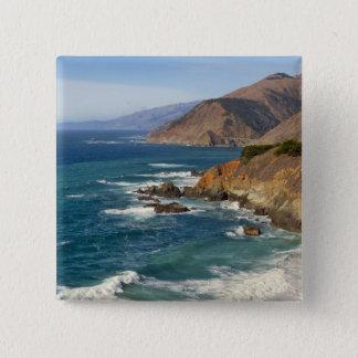 USA, California, Big Sur Coastline Pinback Button