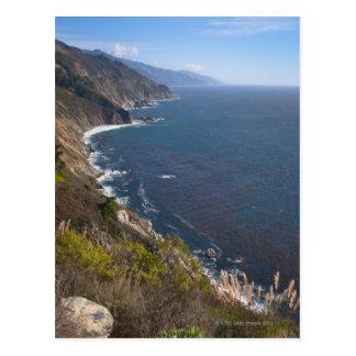 USA, California, Big Sur, Rugged coastline Postcard