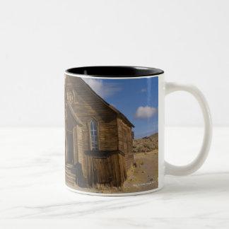 USA, California, Bodie, Old church in desert Two-Tone Coffee Mug
