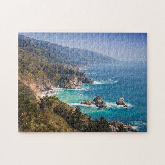 USA, California. California Coast, Big Sur Puzzle
