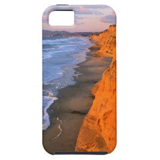 USA, California, Cliffs At Pescadero State Beach iPhone 5 Cases
