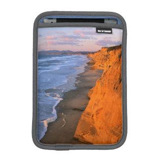USA, California, Cliffs At Pescadero State Beach Sleeve For iPad Mini
