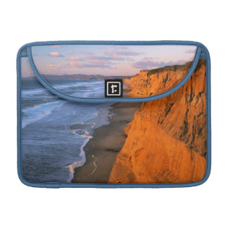 USA, California, Cliffs At Pescadero State Beach Sleeve For MacBook Pro