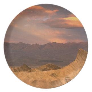 USA, California, Death Valley National Park. 2 Dinner Plate