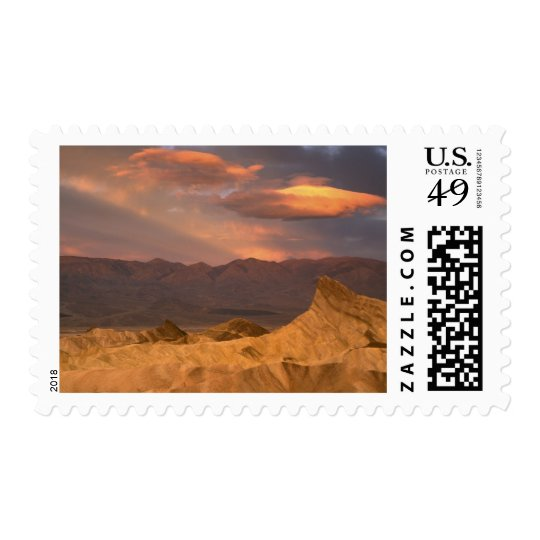 USA, California, Death Valley National Park. 2 Postage