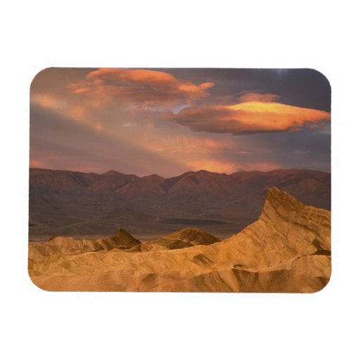 USA, California, Death Valley National Park. 2 Rectangle Magnets