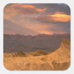 USA, California, Death Valley National Park. 2 Square Sticker