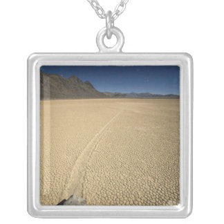 USA, California, Death Valley National Park. 3 Silver Plated Necklace