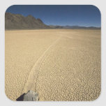 USA, California, Death Valley National Park. 3 Square Stickers
