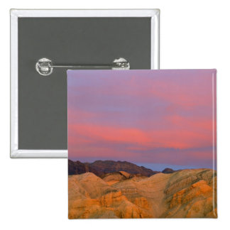 USA, California, Death Valley NP. Sunset offers Pinback Button