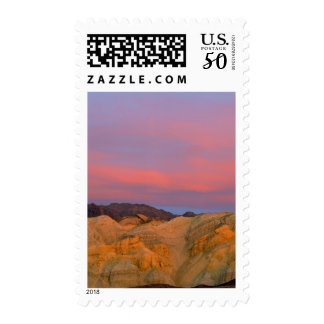USA, California, Death Valley NP. Sunset offers Postage