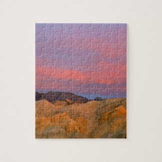 USA, California, Death Valley NP. Sunset offers Puzzle