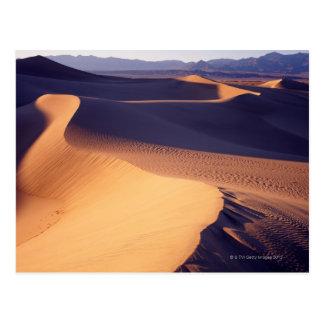 USA, California, Death Valley, sand dunes, dawn Postcard