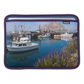 USA, California. Docked Boats At Morro Bay Sleeve For MacBook Air
