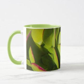 USA, California. Giant Lobelia Plant Close Up Mug