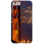 USA, California. Golden Gate Bridge At Night Barely There iPhone 6 Plus Case