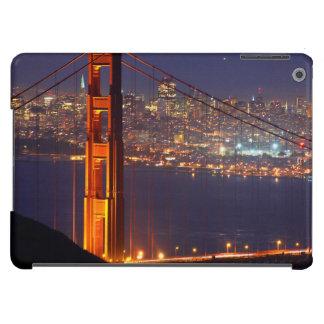 USA, California. Golden Gate Bridge At Night Cover For iPad Air