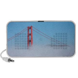 USA, California. Golden Gate Bridge In Morning Speaker