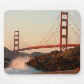 USA, California. Golden Gate Bridge View Mouse Pad