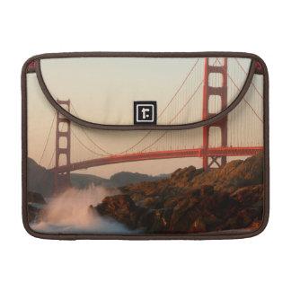 USA, California. Golden Gate Bridge View Sleeve For MacBook Pro