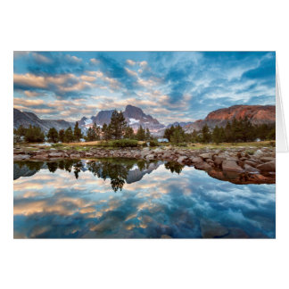 USA, California, Inyo National Forest 15 Card