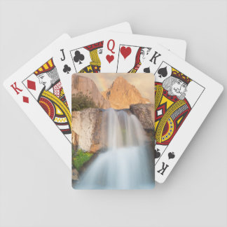 USA, California, Inyo National Forest. Waterfall Card Deck