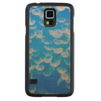 USA, California. Jellyfish In The Monterey Bay Carved® Maple Galaxy S5 Slim Case
