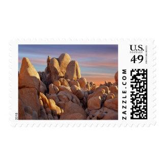 USA, California, Joshua Tree National Park Postage Stamps