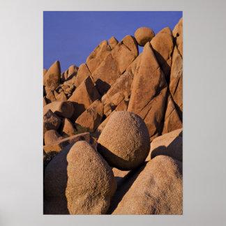 USA, California, Joshua Tree National Park. Poster