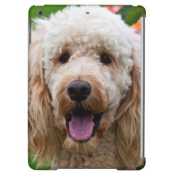 Case Savvy Glossy Finish iPad Air Case with Labradoodle Phone Cases design