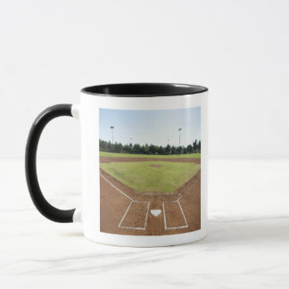 USA, California, Ladera Ranch, baseball diamond Mug
