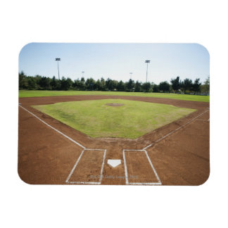 USA, California, Ladera Ranch, baseball diamond Rectangular Photo Magnet