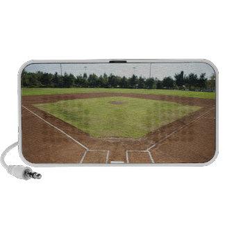USA, California, Ladera Ranch, baseball diamond Notebook Speaker