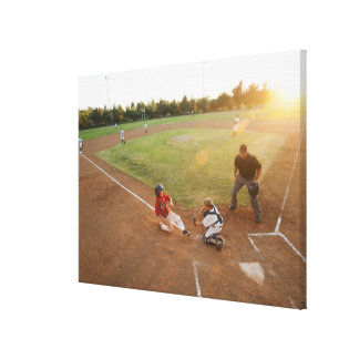 USA, California, Ladera Ranch, boys (10-11) Canvas Print