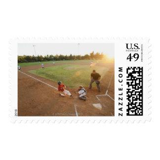 USA, California, Ladera Ranch, boys (10-11) Stamp